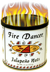 Fire Dancer Jalapeno Peanuts 11 ounce tin